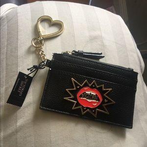 Victoria secret keychain card holder